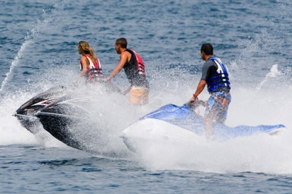 Jet Ski Tour A St Barth